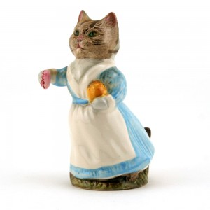 Tabitha Twitchit (White Top) - Royal Albert - Beatrix Potter Figurine