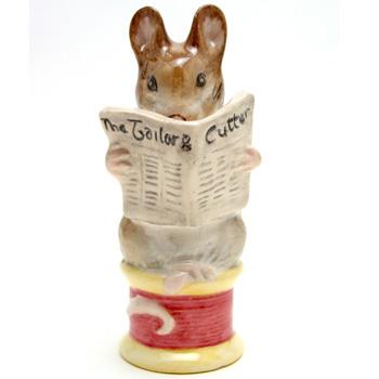 Tailor of Gloucester - New Beswick - Beatrix Potter Figurine