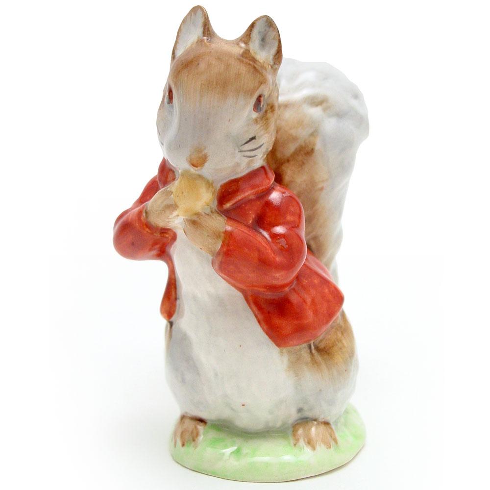 Timmy Tiptoes (Brown-Grey) - Beswick - Beatrix Potter Figurine
