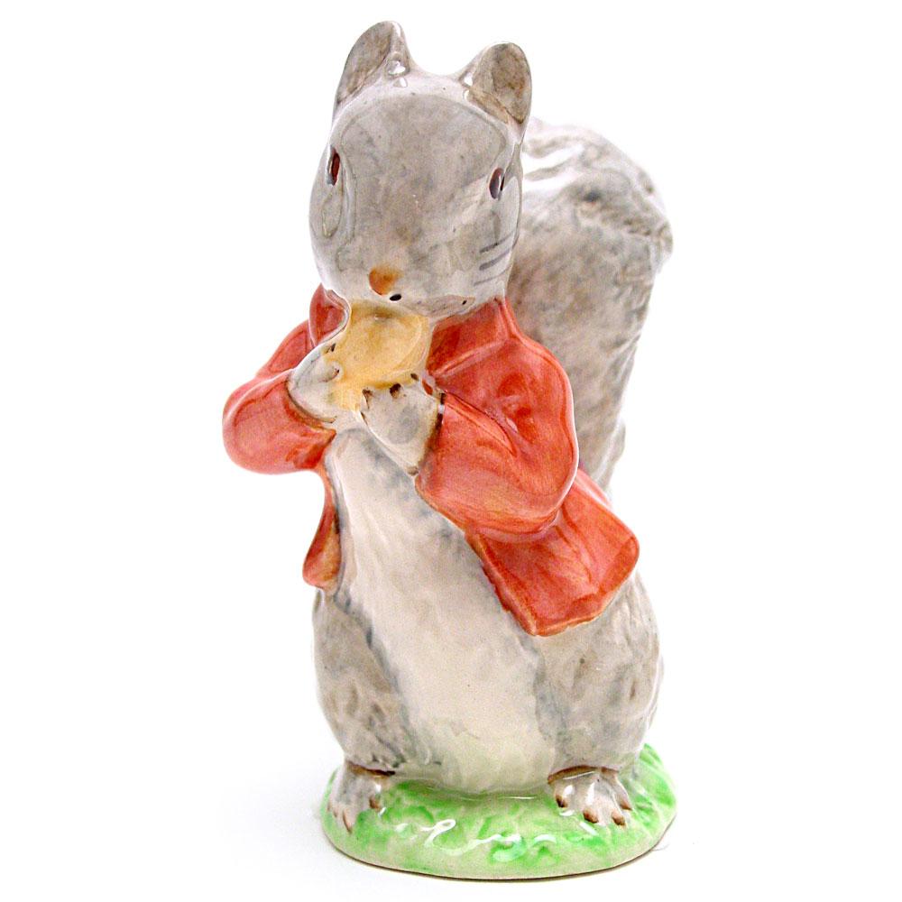 Timmy Tiptoes (Grey) - Beswick - Beatrix Potter Figurine