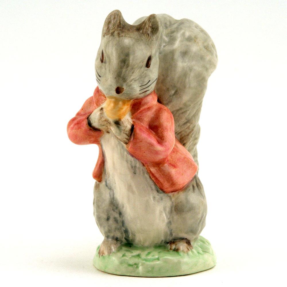 Timmy Tiptoes Grey - Royal Albert - Beatrix Potter Figurine