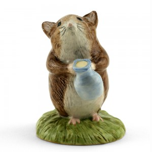 Timmy Willie Fetching Milk - New Beswick - Beatrix Potter Figurine