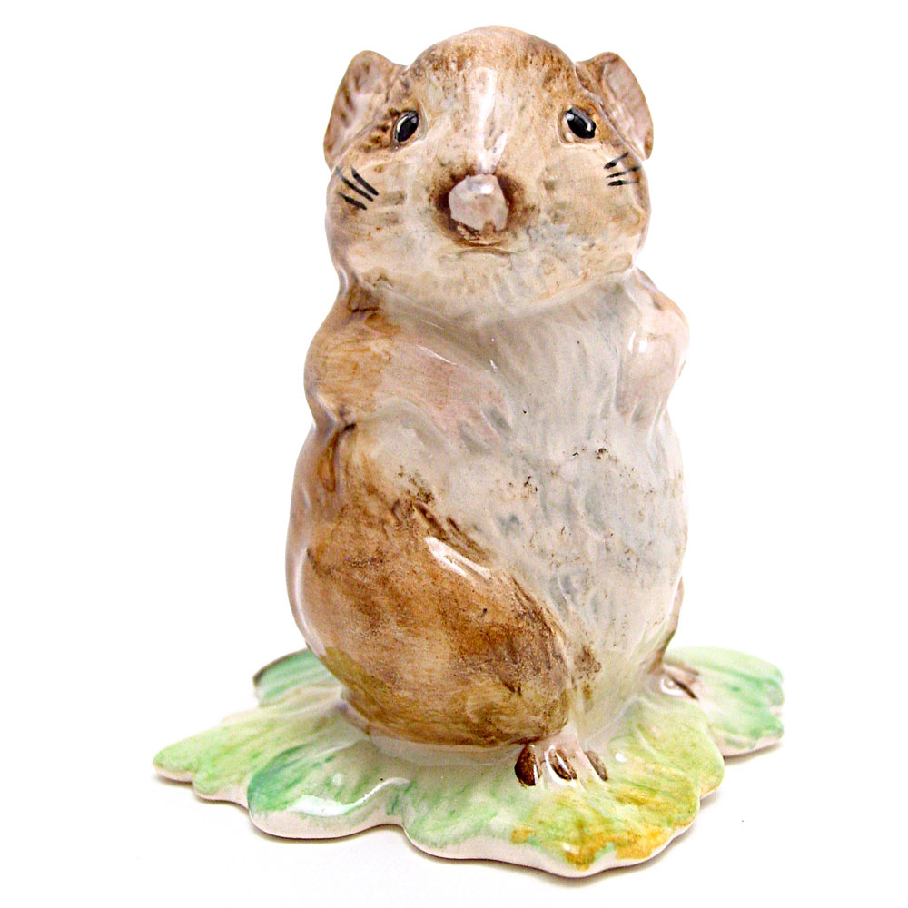 Timmy Willie From Johnny Town-Mouse - Beswick - Beatrix Potter Figurine