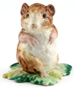 Timmy Willie From Johnny Town-Mouse - Gold Circle - Beatrix Potter Figurine