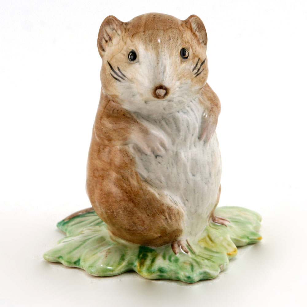 Timmy Willie From Johnny Town-Mouse - Royal Albert - Beatrix Potter Figurine