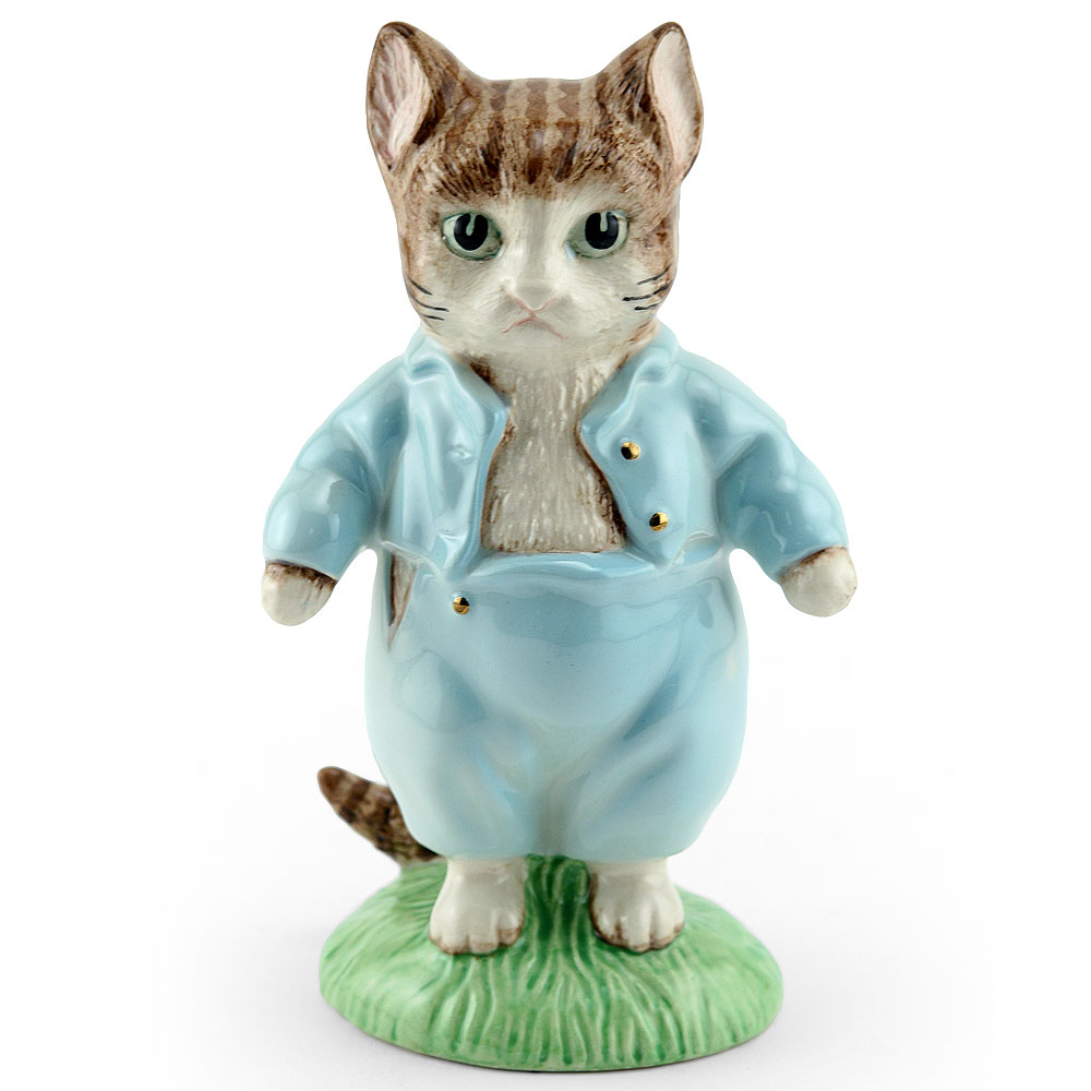 Tom Kitten Gold Buttons Large - Beatrix Potter Figurine
