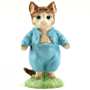 Tom Kitten (Large Size) - Royal Albert - Beatrix Potter Figurine