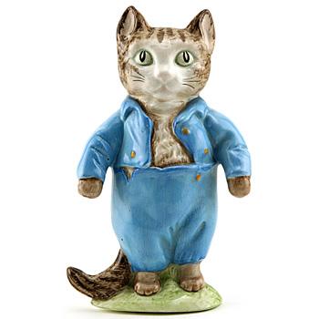 Tom Kitten Plaque - Beatrix Potter Figurine