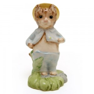 Tom Kitten In The Rockery - New Beswick - Beatrix Potter Figurine