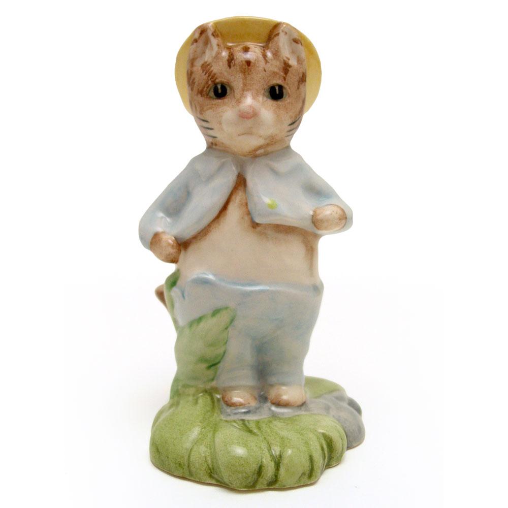 Tom Kitten In The Rockery - New Beswick - Beatrix Potter Figurine