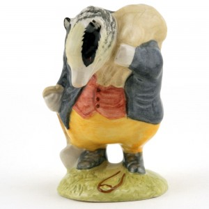 Tommy Brock (Handle In) - Royal Albert - Beatrix Potter Figurine