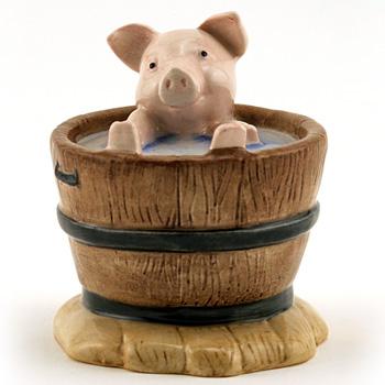 Yock Yock in the Tub - Beatrix Potter Figurine