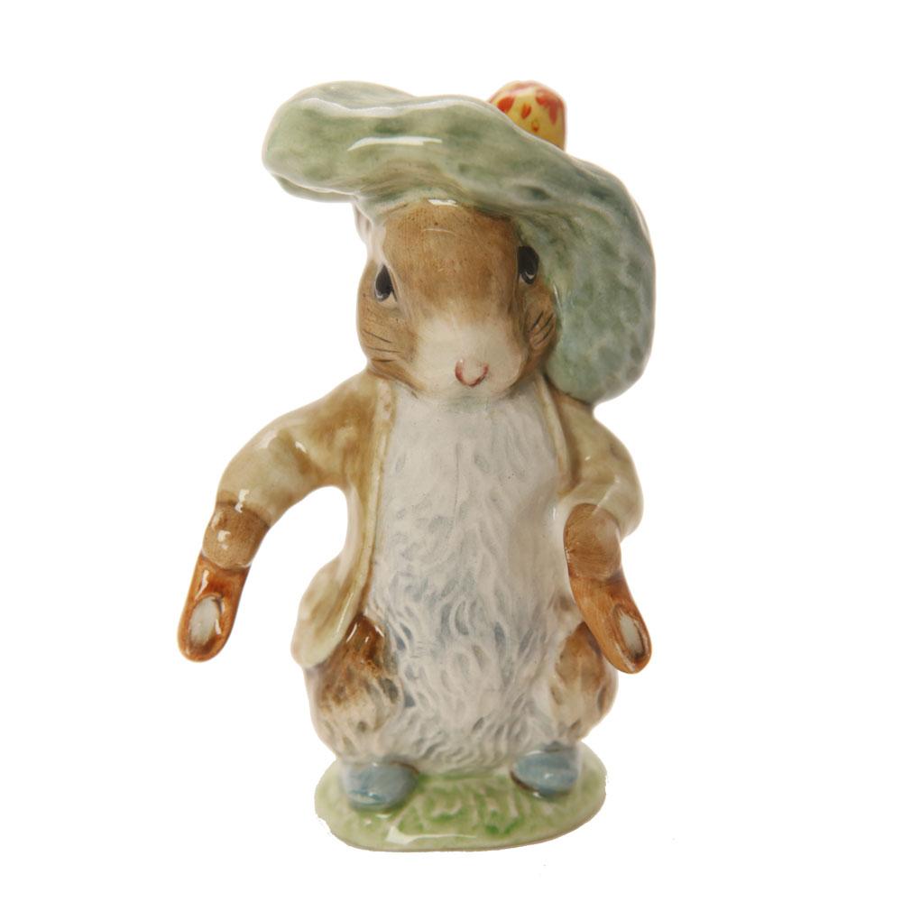 Ben Bunny EarsOut ShoesOut GCRC - Beatrix Potter Figurine