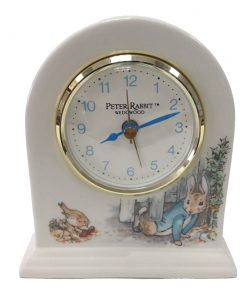 Beatrix Potter Large Clock - Wedgwood - Beatrix Potter Figurine