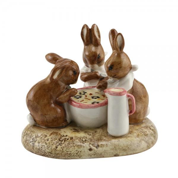 Flopsy, Mopsy & Cottontail - Beatrix Potter Figurine