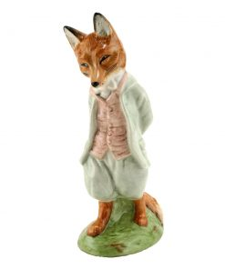 Foxy Whiskered Gent Large GRN - Beatrix Potter Figurine