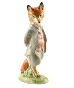 Foxy Whiskered Gentleman CRCL - Beatrix Potter Figure