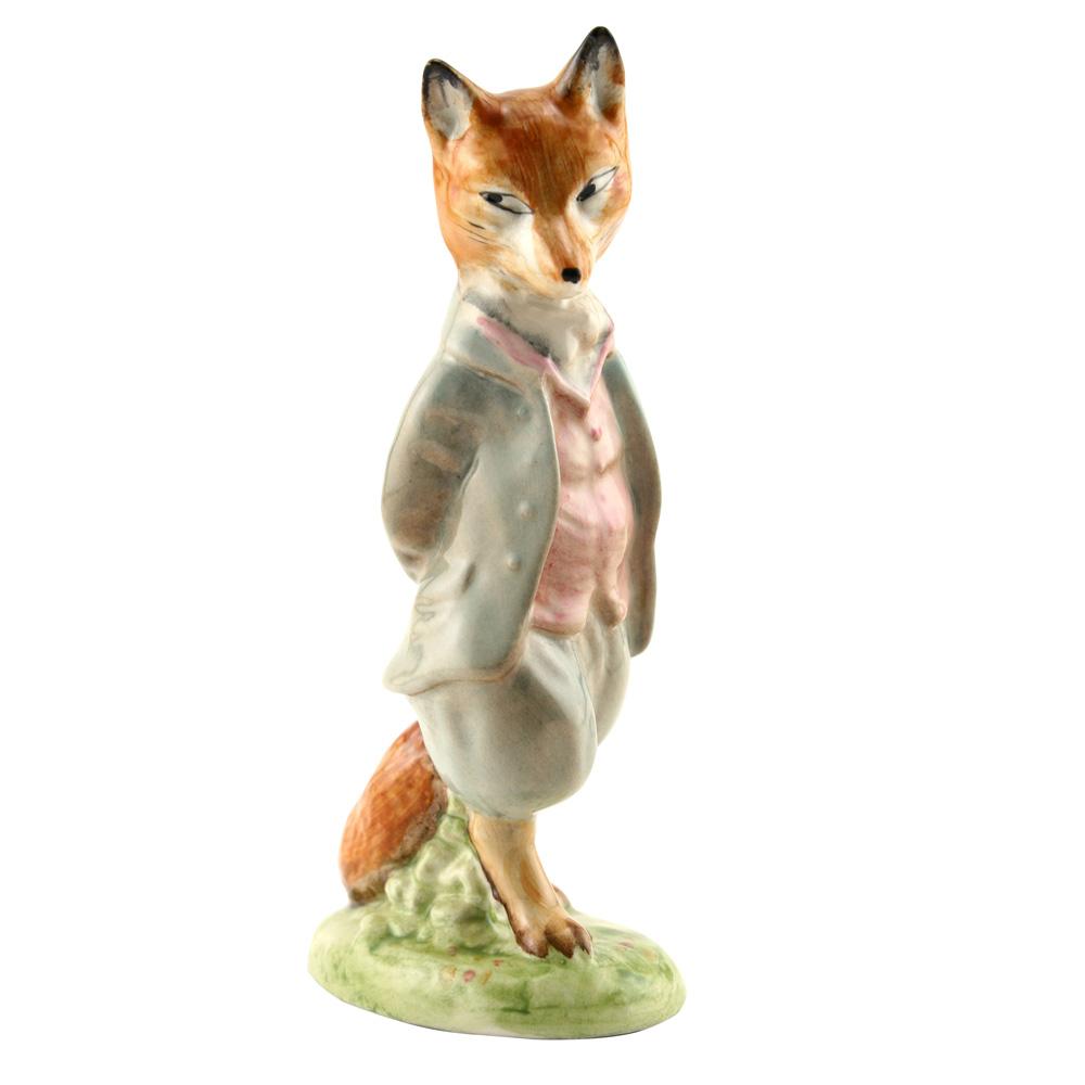Foxy Whiskered Gentleman CRCL - Beatrix Potter Figure