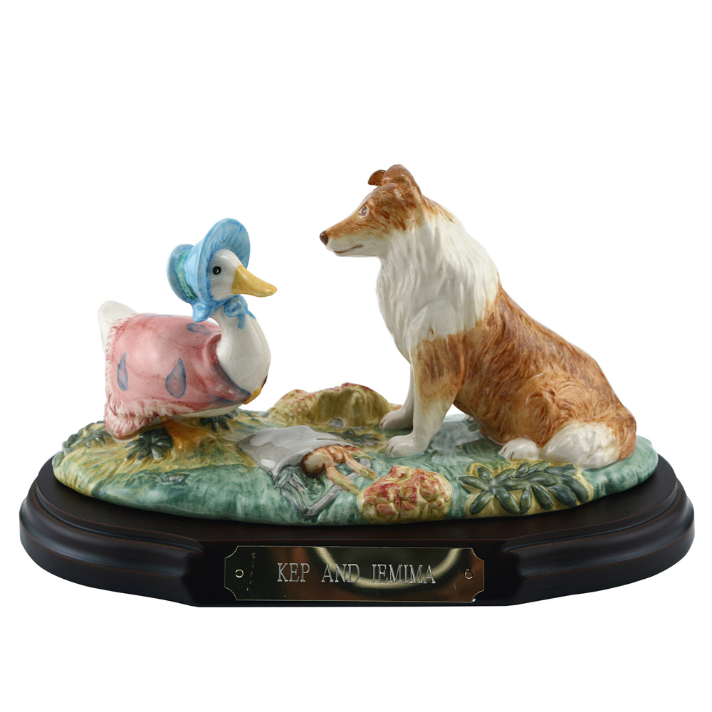 Kep & Jemima Tableau - Beatrix Potter Figure