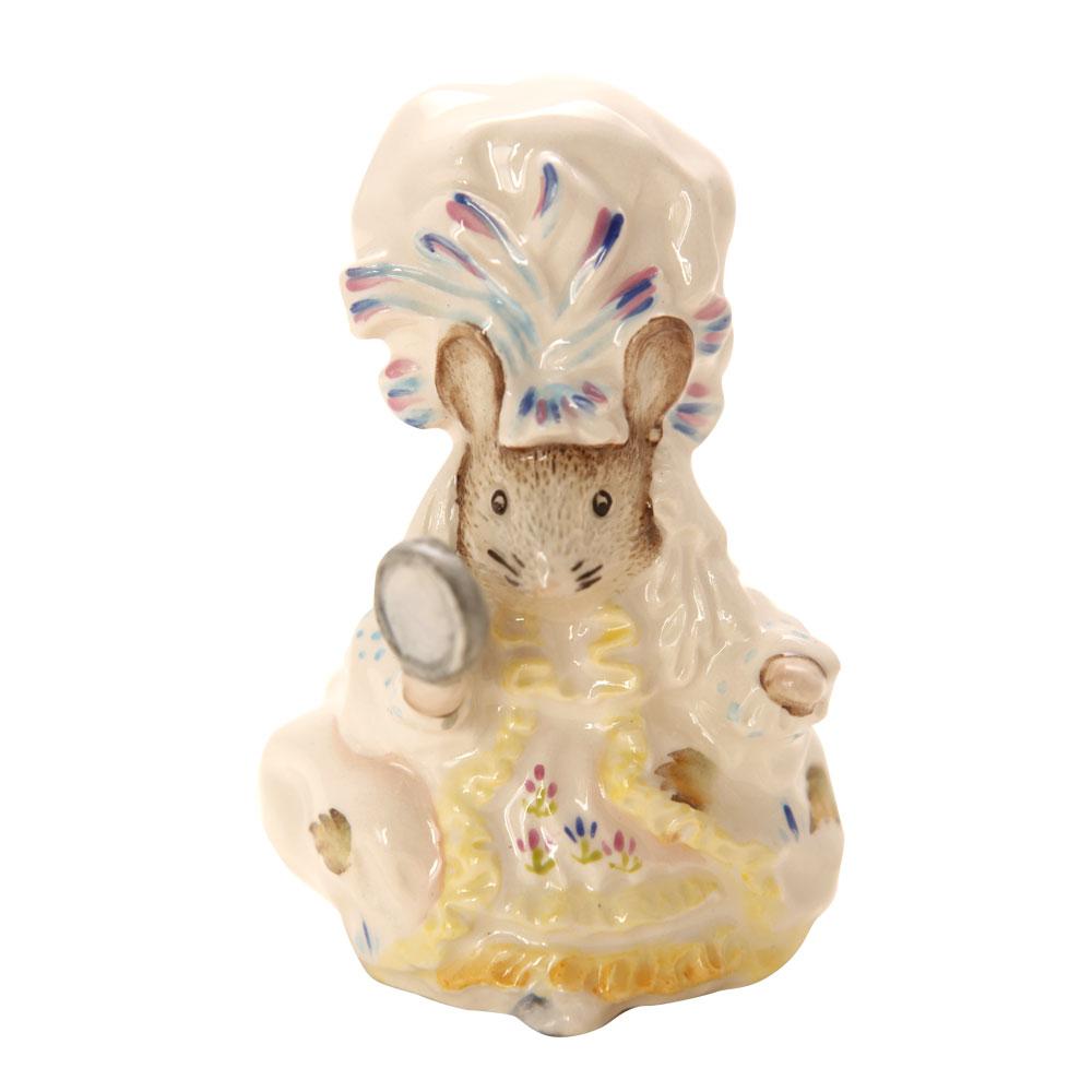 Lady Mouse NBSWK - Beatrix Potter Figurine