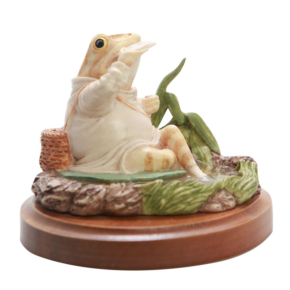 Mr. Jeremy Fisher (Sculpted) SS3 - Beatrix Potter Figurine