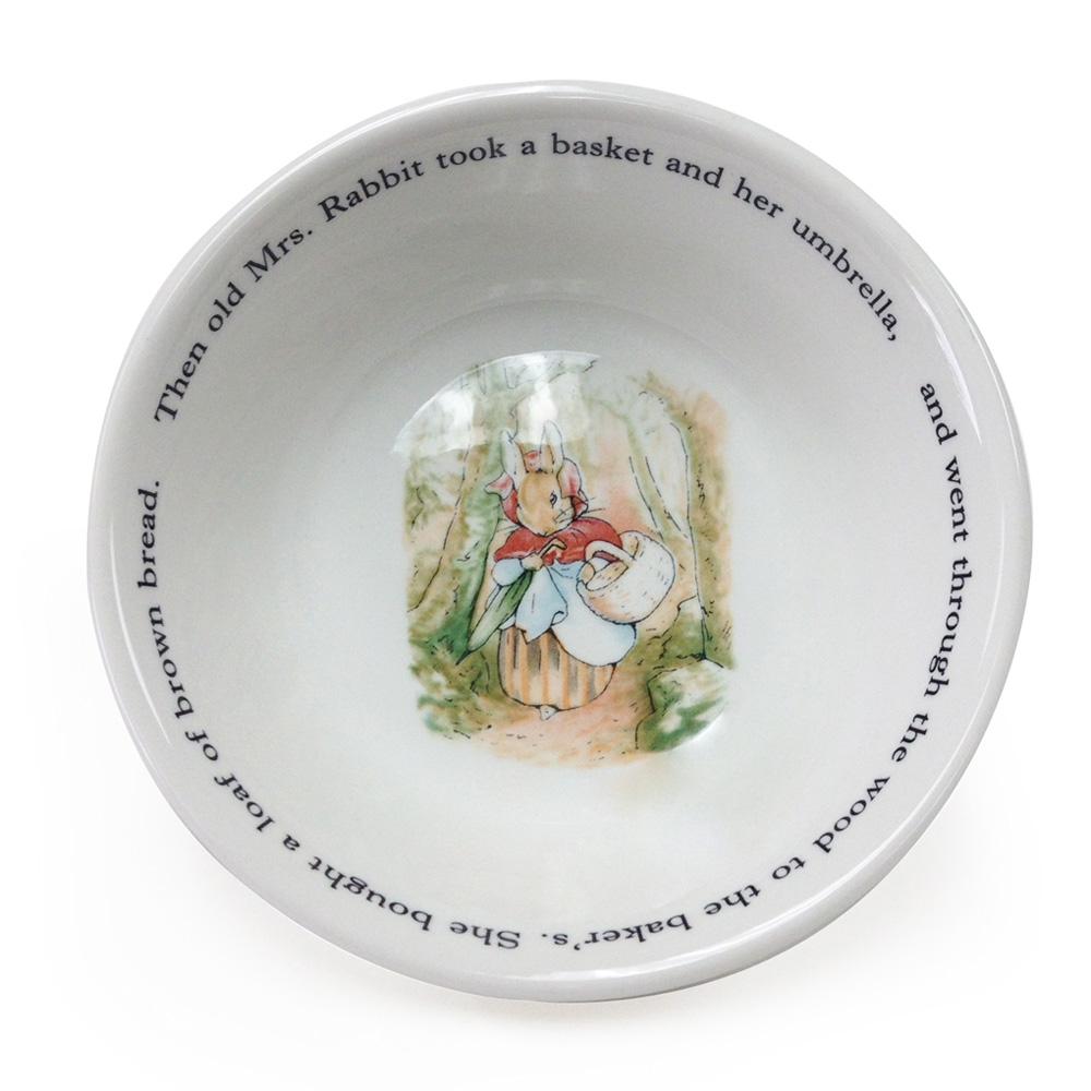 Beatrix Potter Mrs. Rabbit Bowl - Wedgwood - Beatrix Potter Figurine