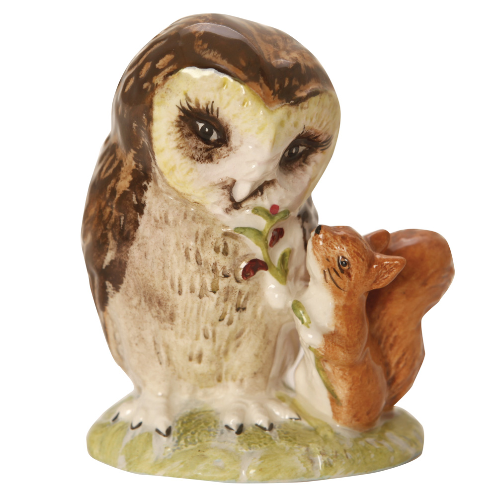 Old Mr Brown - NBSWK - Beatrix Potter Figurine