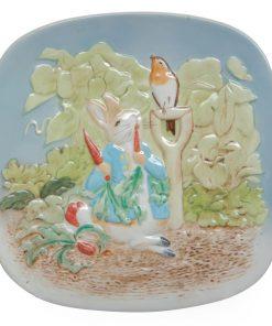 Peter Rabbit Plaque - Beatrix Potter Figurine