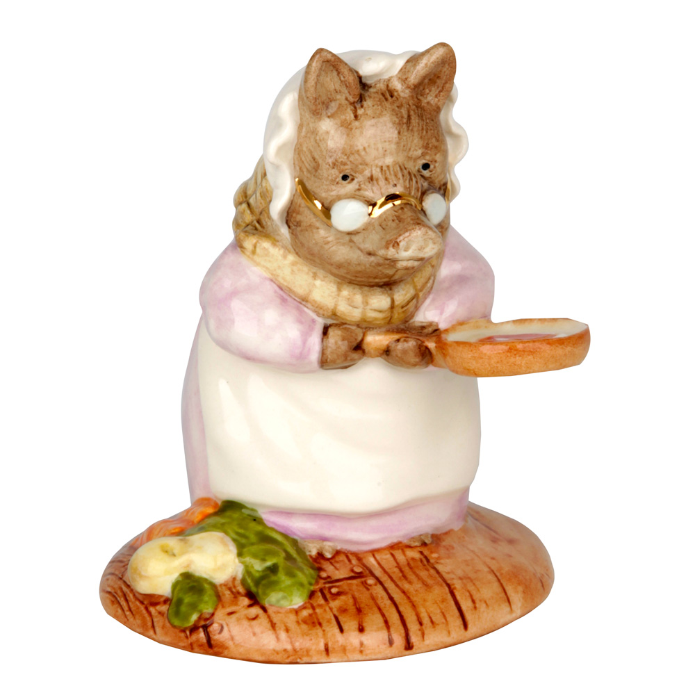 This Pig Had a Bit of Meat - New Beswick - Beatrix Potter Figurine