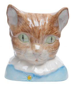 Tom Kitten Character Jug - Beatrix Potter Figure