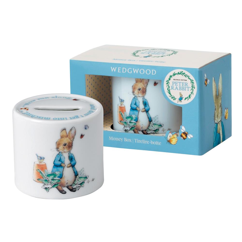 Wedgwood Peter Rabbit t Money Box - Beatrix Potter Nursery Set