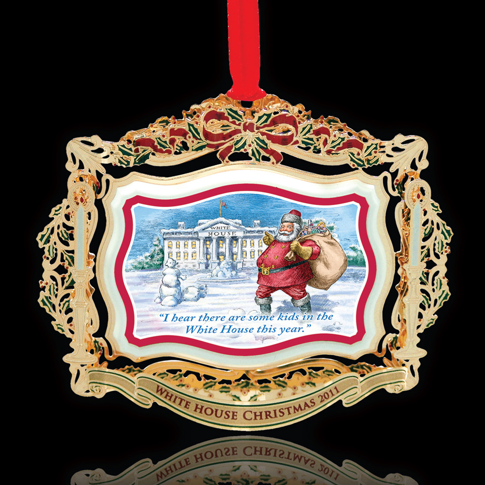 Theodore Roosevelt Ornament - White House Historical Association - Keepsake Ornaments
