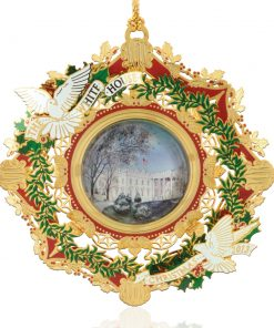 Woodrow Wilson Ornament - White House Historical Association - Keepsake Ornaments