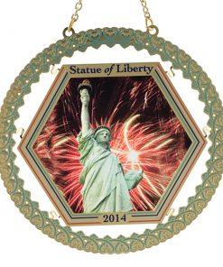 Statue of Liberty Suncatcher Ornament - White House Historical Association - Keepsake Ornaments