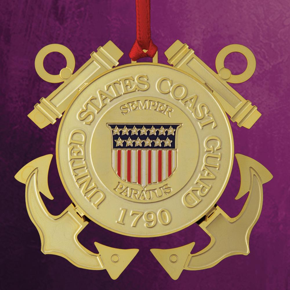 Coast Guard Ornament - White House Historical Association - Keepsake Ornaments
