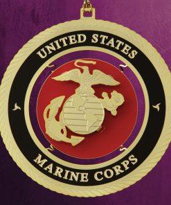 Marine Corps Ornament - White House Historical Association - Keepsake Ornaments