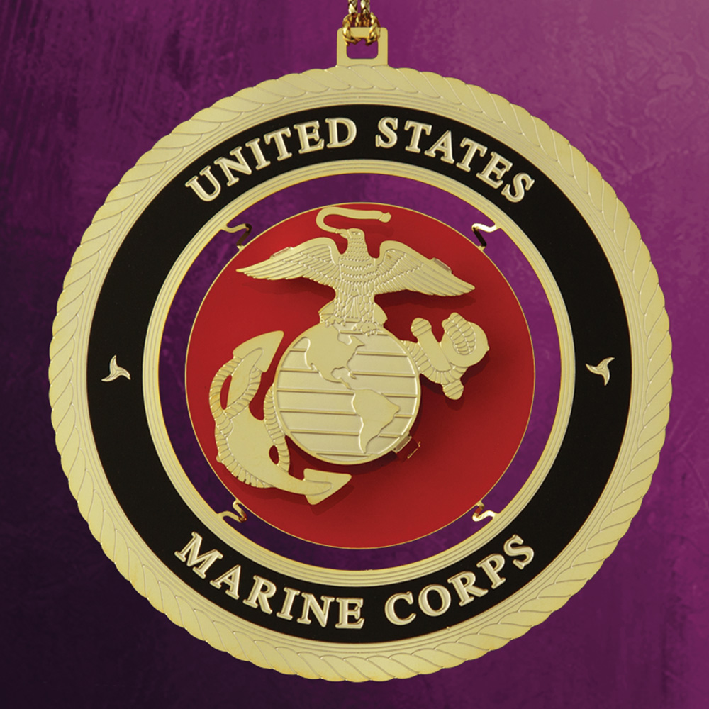 Marine Corps Ornament - White House Historical Association - Keepsake Ornaments