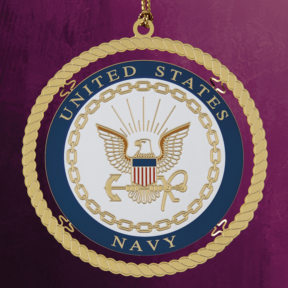 Navy Ornament - White House Historical Association - Keepsake Ornaments