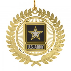 US Army Logo Ornament - White House Historical Association - Keepsake Ornaments