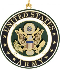 US Army Seal Ornament - White House Historical Association - Keepsake Ornaments