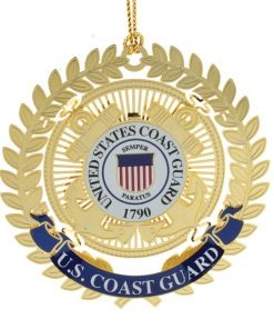 US Coast Guard Logo Ornament - White House Historical Association - Keepsake Ornaments