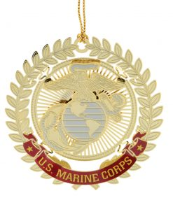 US Marine Corps Logo Ornament - White House Historical Association - Keepsake Ornaments