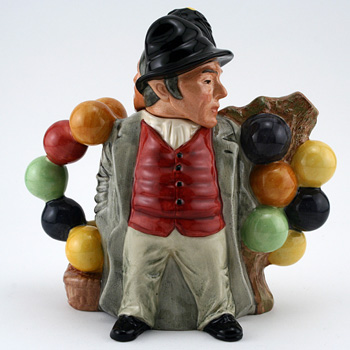 Balloon Man and Woman D7171 - Teapot - Royal Doulton