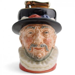 Beefeater D6233 - Lighter - Royal Doulton