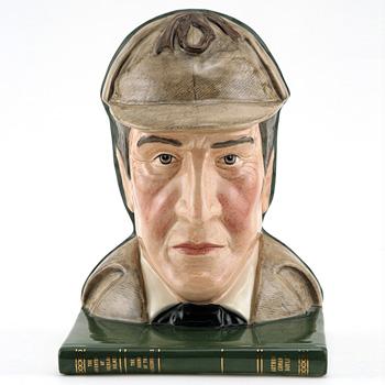 Sherlock Holmes D7038 - Bookend - Royal Doulton