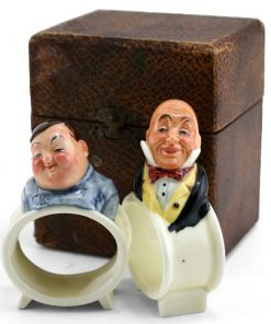 Dickens Napkin Rings - Napkin Rings Boxed Set(2) - Royal Doulton