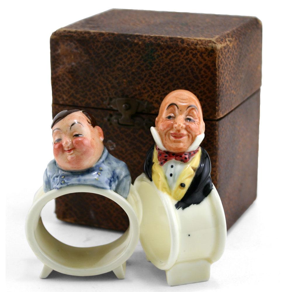 Dickens Napkin Rings - Napkin Rings Boxed Set(2) - Royal Doulton