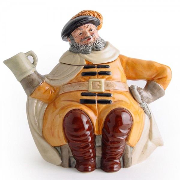 Falstaff D6855 - Teapot - Royal Doulton
