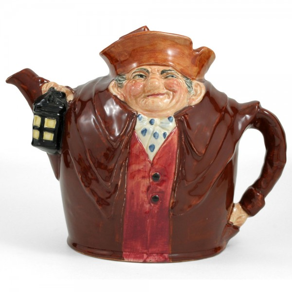 Old Charley D6017 - Teapot - Royal Doulton