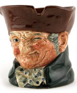 Old Charley D5844 - Tobacco Jar - Royal Doulton